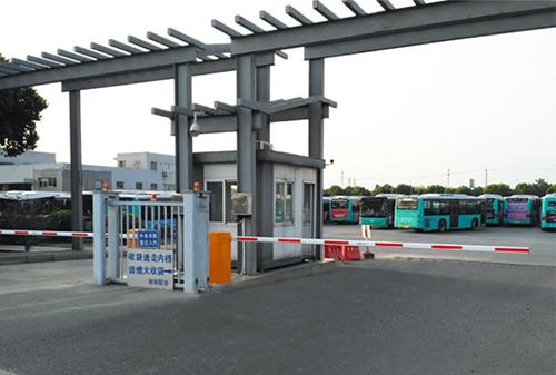 苏州公交停车门禁系统项目