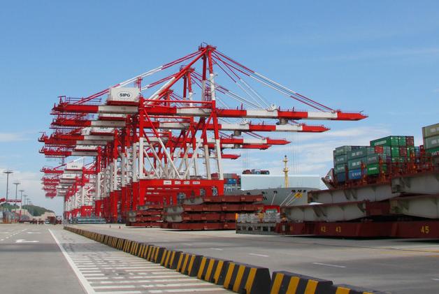 上海港停车门禁系统项目