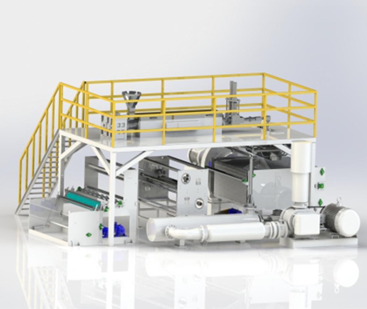 RW1600型熔喷生产线